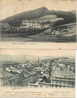 1902/06 - SUMPERK , 2 Stk. , Gute Und Schlechte Zustand ,  2 Scan - Tchéquie