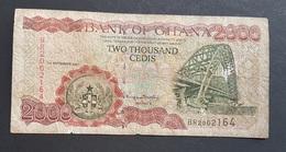 FD0513 - Ghana 2000 Cedisr Banknote 2001 #BR2062164 - Ghana