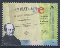 Argentina 2004 Mi 2944 SG 3074 ** 3rd Int. Spanish Language Congress / Spanische Sprachlehre, Rosario, Andres Bello - Idioma