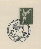 6800 Mannheim - Stephanie Napoleon - Nachrichtensatellit 1977 - Berühmt Frauen