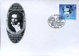 55042 Germany Special Postmark Bonn First Day  02.1.2020 250 Year Birth Ludwig Van Beethoven, - Musik