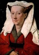 CPM - Jan VAN EYCK - Portrait De Marguerite VAN EYCK … BRUGGE - Groeningemuseum - Peintures & Tableaux