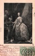 CPA - MARIE LECZINSKA - Reine De France (Née En 1703 à Trzebnica POLOGNE) ... Œuvre De C.VAN-LOO - Edition B.F. - Femmes Célèbres