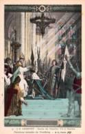 CPA - CHARLES VII - SACRE à REIMS ... - Peintures Murales Du PANTHEON ... - Edition B.F. - Personnages Historiques