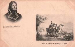 CPA - GENERAL DESAIX - Portrait …Mort à MARENGO 1800 … - Personnages Historiques