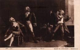 CPA - MARAT - Œuvre De LOUVET - Musée Longchamp / Marseille - Edition L.L. - Personnages Historiques