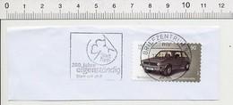 Timbre Oblitéré Sur Fragment WW Golf Série 1 Voiture Volkswagen 1974 Car Briefzentrum 90 TP-01 - Allemagne