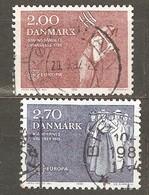 Denmark: Full Set Of 2 Used Stamps, EUROPA, 1982, Mi#749-750 - Dänemark
