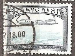 Denmark: 1 Used Stamp From A Set, Airplane, 1981, Mi#743 - Dänemark