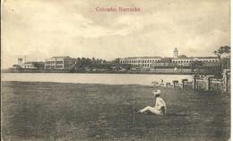 COLOMBO BARRACKS - CEYLON - Sri Lanka (Ceylon)