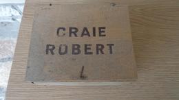 Boite Incomplète De Craie Robert ,bleue. - Other Collections
