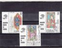 España Nº 2721 Al 2723 Con Viñeta - 1931-Aujourd'hui: II. République - ....Juan Carlos I