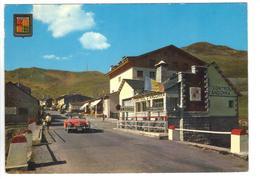 CPM ANDORRE FRANCE Frontière Entrée à ANDORRA Voiture à Reconnaître Timbre 1963 - Andorra