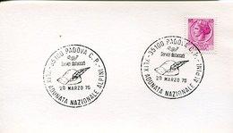 55046 ITALIA, SPECIAL POSTMARK  20 MARZO 1976  PADOVA ,ADUNATA NAZIONALE ALPINI - Italy