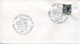 55049 ITALIA, Special Postmark Conegliano 21.9.1975 Cinquantenario Sezione Alpini - Italy
