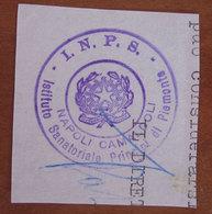 Timbro Italia  INPS Napoli Camaldoli  - Frammento - Seals Of Generality