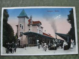 KAMPEN - STATION 1924 ( Stoomtrein ) - Kampen