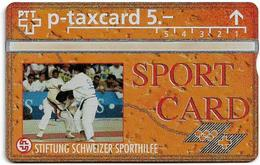 Switzerland - Swisscom (L&G) - Sporthilfe - KP100.38 - Judo - 528L - 08.1995, 5Fr, 1.500ex, Mint - Zwitserland