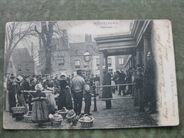 MIDDELBURG - VISCHMARKT 1906 - Middelburg