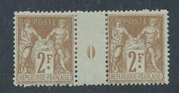 DP-112: FRANCE: Lot Avec N°105* Millésime 0 (charnière De Consolidation) - Millésimes