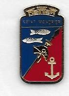 @@ Pin's Blason Armoirie Ancre Marine Nationale SAINT MANDRIER SUR MER Var PACA @@ Ma160a - Militares