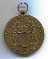 DEVENTER GEMEENTEBESTUUR - Netherlands, Vintage Medal, D 50 Mm - Netherland