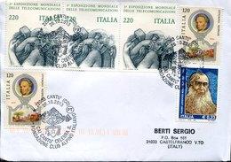 55050 ITALIA, Special Postmark Cantù 26.10.2013 Cai Cantù 50^fondaz.club Alpino Italiano - Italy