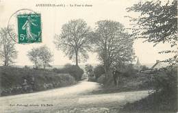 2 CPA 95 Val D'Oise Avernes Une Rue Du Chateau + Le Four à Chaux - Avernes