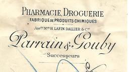 Traite 1904 / SARTHE / LE MANS / PARRAIN & GOUBY / LAFIN-DALLIER / Pharmacie, Droguerie / Fabrique De Produits Chimiques - Bills Of Exchange