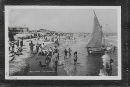 AK 0499  Riccione - La Spiaggia Um 1931 - Rimini
