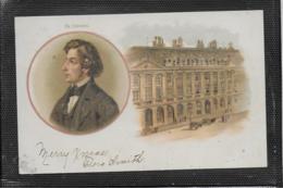 AK 0499  Frédéric Chopin ( Komponist ) - Künstlerkarte Um 1907 - Chanteurs & Musiciens