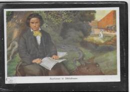 AK 0499  Beethoven In Schönbrunn - Künstlerkarte Um 1910-20 - Chanteurs & Musiciens