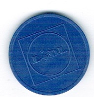 Luxembourg Jeton/Token LIDL - Tokens & Medals