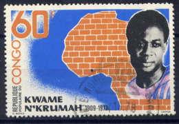 CONGO - 514° - KWAME N'KRUMAH - Oblitérés