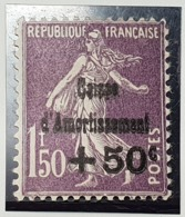 N° 268 Neuf * Gomme D'Origine  TB - Unused Stamps