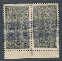 DP-120: ALGERIE: Lot Avec Colis Postaux N°8** Paire Recto Verso - Paquetes Postales