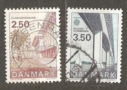 Denmark:  Full Set Of 2 Used Stamps, EUROPA - Inventions, 1983, Mi#772-773 - Dänemark