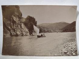Bords De La Loire. Environs Pertuiset. 8x6 Cm - Anciennes (Av. 1900)