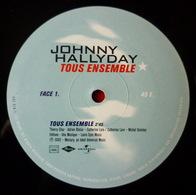 JOHNNY HALLYDAY - MX - 45T - Disque Vinyle - Tous Ensemble (sans Pochette) 582918 - 45 Rpm - Maxi-Single