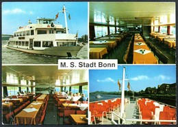 5817 - MS Stadt Bonn Innenansicht Stempel - Ferries