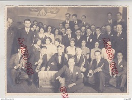 Au Plus Rapide Marseille Brasserie Du Châpitre Musique Orchestre Jazz 1932 - Personnes Identifiées