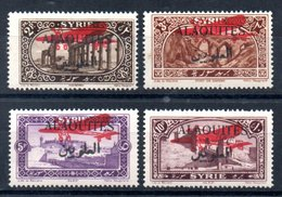 Alaouites Luftpost Y&T PA 9* - PA 12* - Alaouites (1923-1930)
