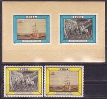 615 - Cuba - 1965 - Pictures Paintings - Block + 2v - MNH - Lemberg-Zp - Zonder Classificatie