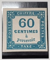 Timbre Taxe N° 9 Neuf */(*)  TB - Postage Due