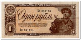 RUSSIA,1 RUBLE,1938,P.213,VF+ - Rusland