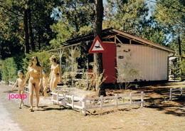 Photo : Montalivet Les Bains,  Le Camping Naturiste, Reproduction; 2 Scans - Nus Artistiques (1960-…)