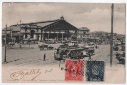 CHILE Santiago Estacion Central - Alameda - Tram Tramway - Viajado De Chili à Francia - Chile
