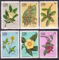 623 - Cuba - 1970 - Flowers - 6v - MNH - Lemberg-Zp - Cuba