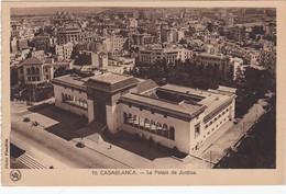CPA/photo N&b CASABLANCA - Le Palais De Justice - Casablanca