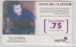 ISRAEL CELLCOM TALKMAN 75 SHEKELS - Israel